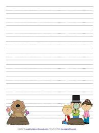 day handwriting paper free printable