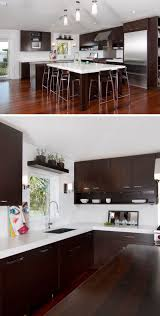 9 inspirational kitchens that combine dark wood cabinetry and