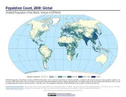 Proportional World Map by Maps Gridded Population Of The World Gpw V4 Sedac