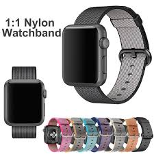 woven link bracelet images 2016 for apple watch bands 42mm 1 1 original woven nylon iwatch jpg