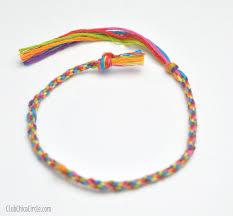 craft bracelet images How to make a friendship bracelet with a recycled plastic lid jpg