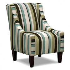 Funky Accent Chairs Funiture Accent Chair With Armrest And Vertical Lining Motif For