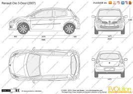 2009 renault clio 3 doors partsopen
