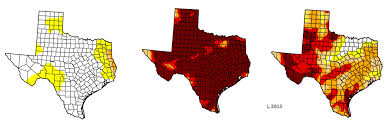 what are the different levels of drought stateimpact texas