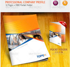 professional company profile brochure template startupstacks com