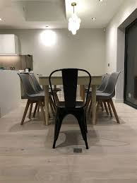 Tolix Dining Chairs Tolix Xavier Pauchard Chair Industrial Style Metal Restaurant
