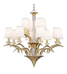 Aged Brass Chandelier Hudson Valley 3199 Agb Marcellus 12 Light 33 Inch Aged Brass