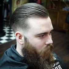 slicked back hair with receding hairline low fade haircut men s haircuts hairstyles 2018