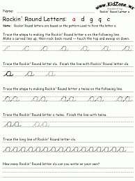 cursive letters handwriting worksheets sample letter template