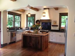 island ideas for kitchens reclaimed wood kitchen island designs ideas
