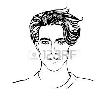 207 267 man face stock vector illustration and royalty free man