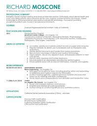 Resume Templates For Dental Assistant Dental Assistant Resume Templates Dental Assistant Resume Resume