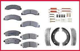ford f250 brakes ford excursion f250 f350 front rear brake pads em shoes
