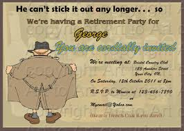 67 free retirement party invitation templates for word farewell