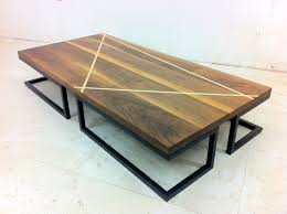 coffee table mikes walnut coffee table the wood whisperer austra
