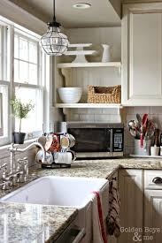 kitchen lighting over sink abstract satin nickel industrial fabric