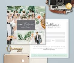 photoshop gift certificate template best u0026 high quality templates