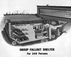 these pictures show how cozy fallout shelters were perfect for the