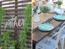 Backyard Dining by My New Outdoor Dining Space Plus A Giveaway