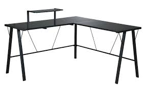 Black Glass L Shaped Desk by Home Design Small L Shaped Desk Computer Desks With Modern 81