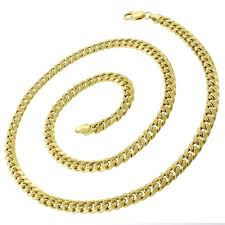 curb link chain necklace images 14k yellow gold 6mm hollow miami cuban curb link chain necklace jpg