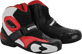 mx motorcycle boots alpinestars s mx 1 motorcycle boots black white red