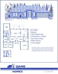 adams homes floor plans palm coast south adams homes
