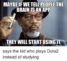 Photo Memes App - maybe if we ople the brain is an app they will start using it