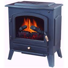 Electric Space Heater Fireplace by Stonegate Electric Fireplace Heater With Remote Black 174892