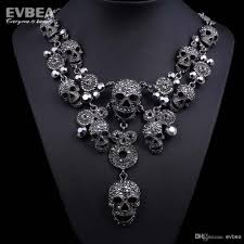 black costume necklace images 2018 costume jewelry clear crystal choker necklace stainless steel jpg