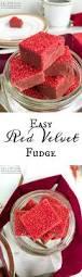 easy red velvet fudge mini marshmallows cream chocolate