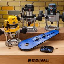 Fine Woodworking Compact Router Review by Rockler Compact Router Ellipse And Circle Jig Rockler
