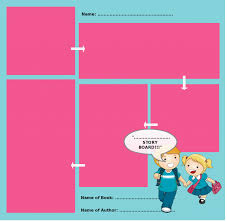 storyboard templates with unique designs for kids and general usage