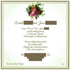 wedding reception invitation wording wedding invitation wording no sit dinner matik for
