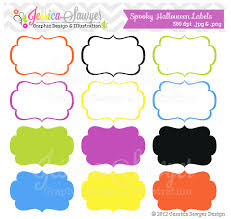 instant download printable halloween labels halloween party tags