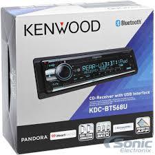 avec radio kenwood kdc bt568u single din sirius xm ready bluetooth hd radio