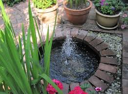Garden Water Fountains Ideas Small Water Garden Ideas Features Ad Amys Office