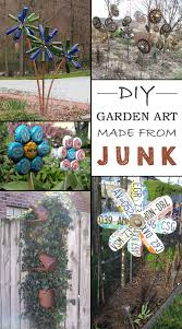 Garden Decorating Ideas Pinterest Great Funky Garden Decor 1000 Ideas About Garden Decorations On