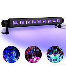 2018 sale uv led lights uv led bar with 9ledx3w black light