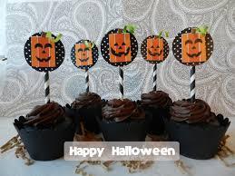 it u0027s written on the wall square pumpkin halloween cupcake wraps