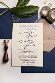 wedding invitations navy navy and gold wedding invitations best 25 navy wedding invitations