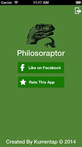philosoraptor pro meme generator apps 148apps