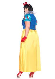 snow white halloween costume plus size classic snow white costume