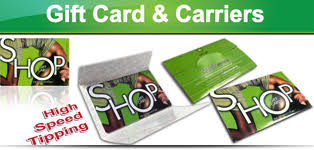 gift card carriers trade only card supplier plastic card manufacturer gift card
