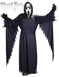 scream halloween mask ghostface scream stalker costume for teenagers by fun world 8875