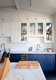 Low Priced Kitchen Cabinets Best 25 Blue Kitchen Cabinets Ideas On Pinterest Blue Cabinets