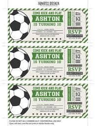 soccer invitation printable birthday party invitation soccer