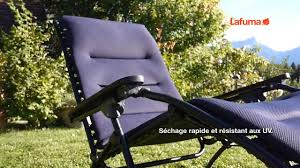 Chaise Longue Relax Lafuma by Relax Air Comfort Lafuma Youtube