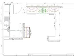 kitchen cabinet drawing kitchen layout software 13571