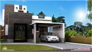 1200 square feet contemporary home exterior kerala home design